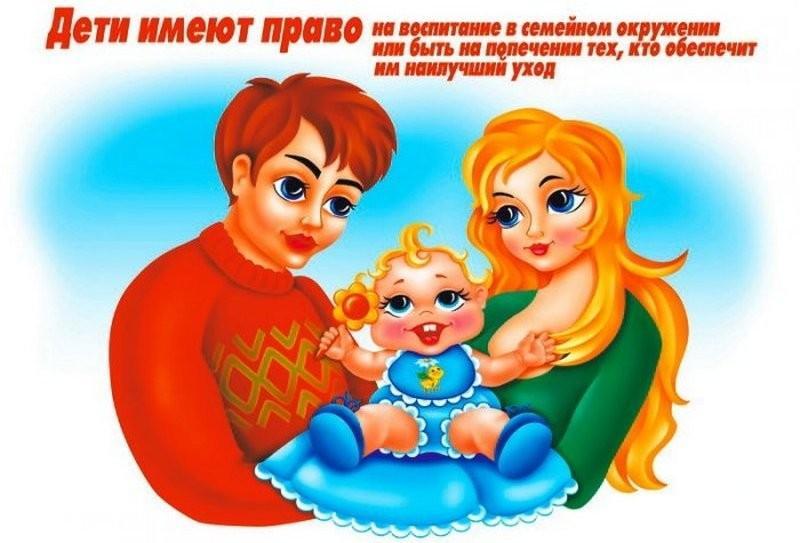 главные права несовершеннолетнего ребенка в России