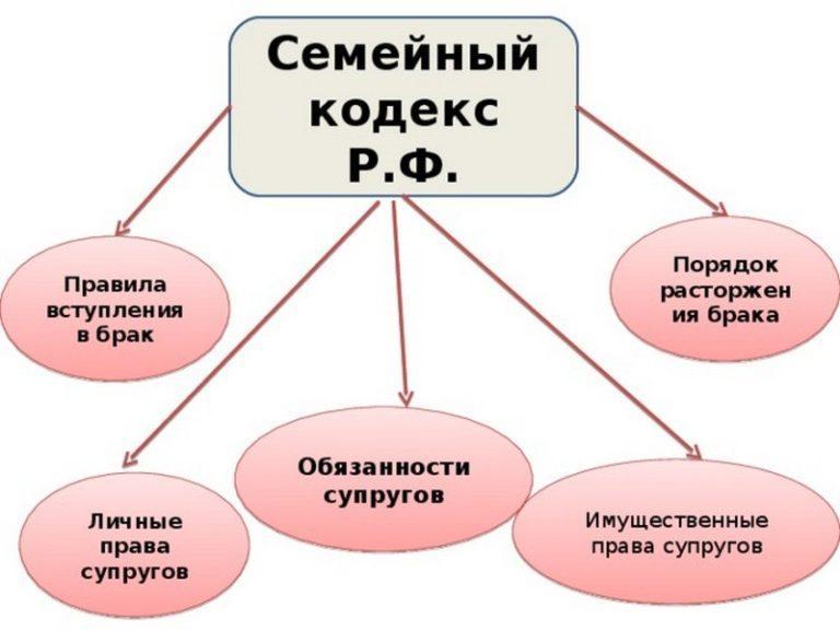 взаимные права и обязанности супругов семейный кодекс всего