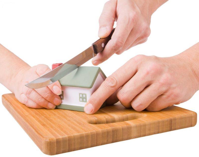 как делится недвижимость при разводе