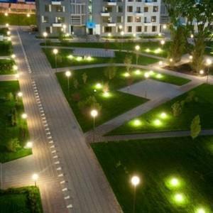 Освещение дворовых территорий закон
