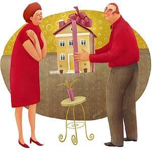 Бланк дарственной на квартиру между близкими родственниками