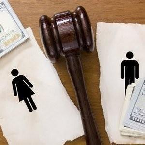 после развода раздел долгов