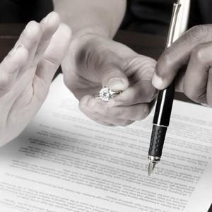 Развод если нет детей и общего имущества