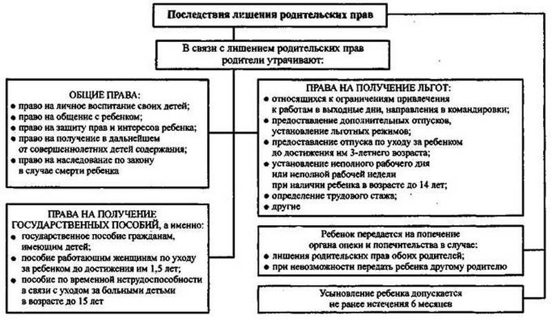 список документов для лишения родительских прав отца