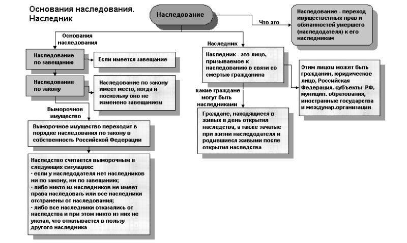 Ст. 1154 ГК РФ срок принятия наследства