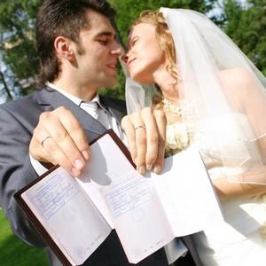 в паспорте печать о браке
