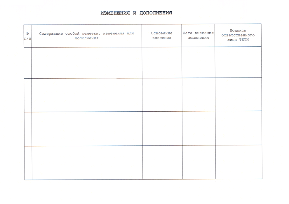 Что такое технический паспорт на квартиру: что это такое, как он выглядит, сроки и порядок получения