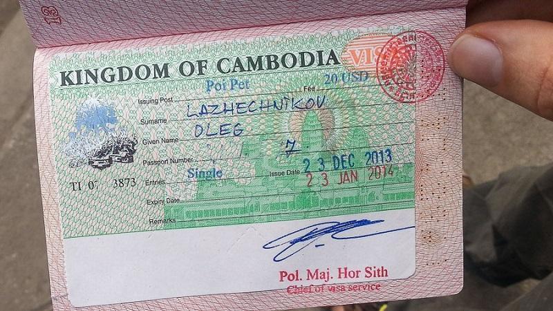 Виза в Камбоджу для россиян: нужна или нет, стоимость и порядок оформления, требования к фото