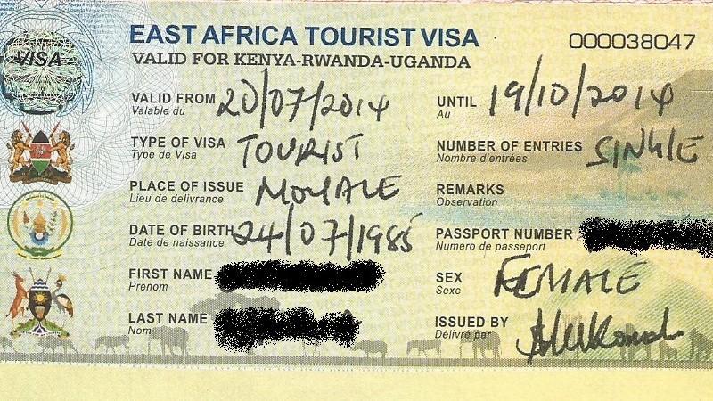 Порядок оформления визы в Кению для россиян