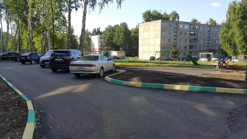 Парковка во дворе многоквартирного дома: правила и штрафы