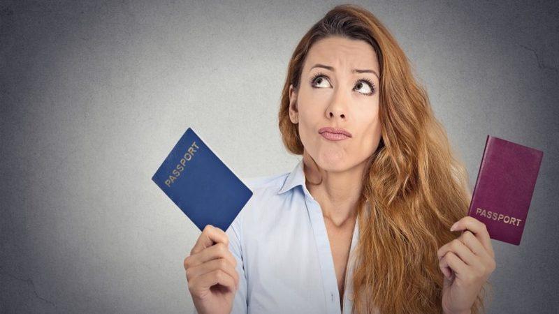 Образец уведомления о двойном гражданстве