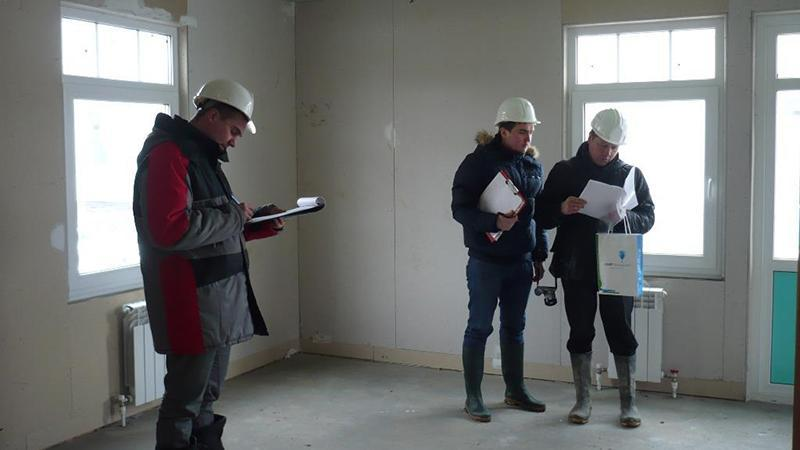 Образец заполнения формы акта технического обследования зданий и сооружений